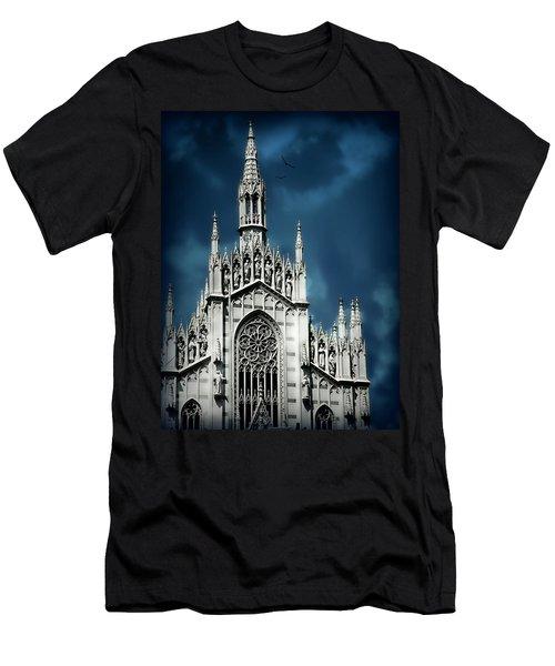Museo Delle Anime Dei Defunti Men's T-Shirt (Athletic Fit)