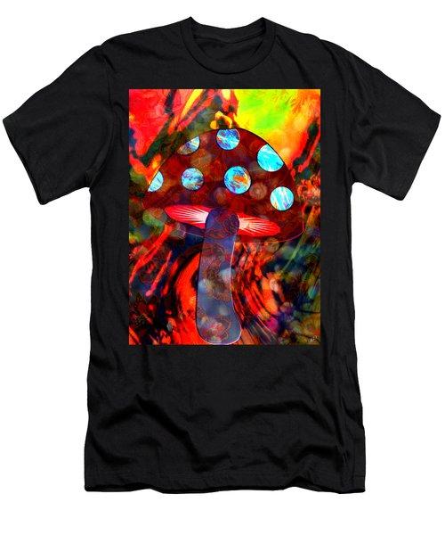 Mushroom Delight Men's T-Shirt (Athletic Fit)