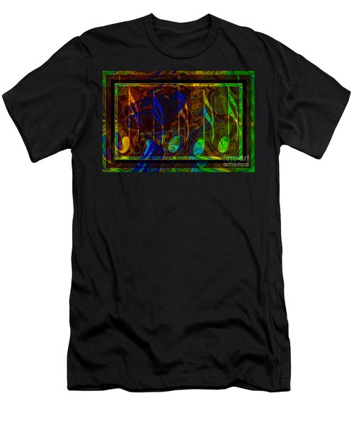 Music Is Magical Abstract Healing Art Men's T-Shirt (Athletic Fit)