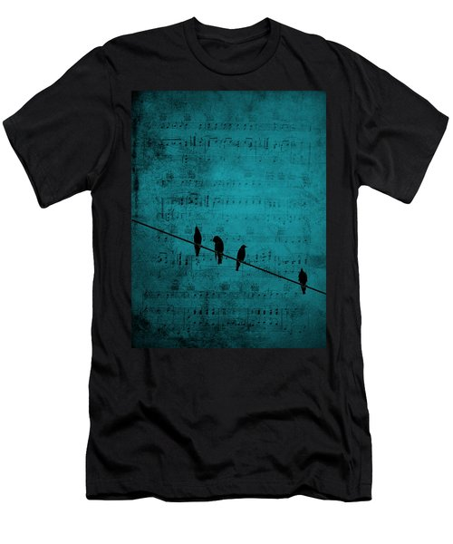 Music Soothes The Soul Men's T-Shirt (Athletic Fit)