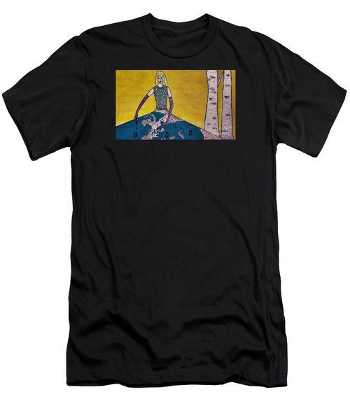 Music World By Jasna Gopic Men's T-Shirt (Athletic Fit)