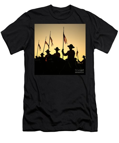 Musical Ride Men's T-Shirt (Slim Fit) by Chris Dutton
