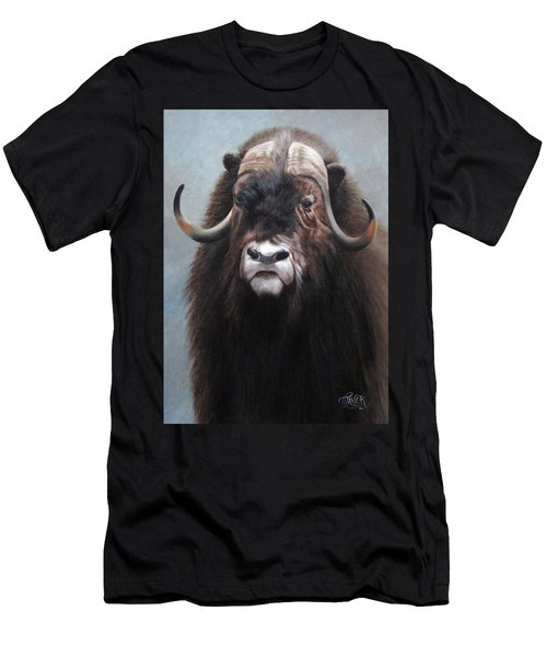 Musk Ox Men's T-Shirt (Athletic Fit)