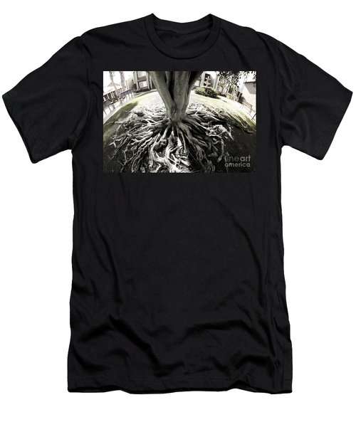 Men's T-Shirt (Athletic Fit) featuring the photograph Muted Roots by Clayton Bruster