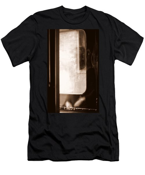 Men's T-Shirt (Slim Fit) featuring the photograph My Father by Faith Williams