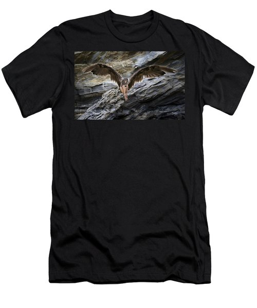 My Guardian Angel Men's T-Shirt (Athletic Fit)