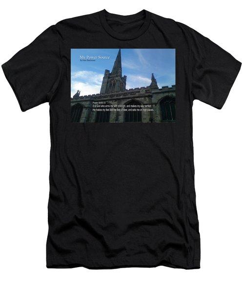 My Power Source Men's T-Shirt (Athletic Fit)