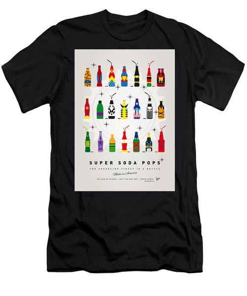 My Super Soda Pops No-00 Men's T-Shirt (Athletic Fit)