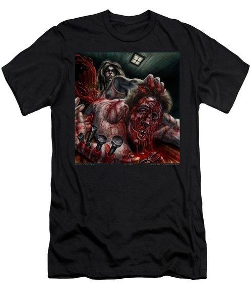 My Turn Men's T-Shirt (Slim Fit) by Tony Koehl