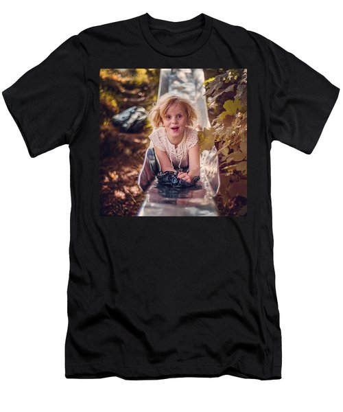 Mya A Few Years Ago In Northern Men's T-Shirt (Athletic Fit)