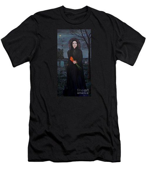 Mystery Men's T-Shirt (Slim Fit) by Myrna Walsh