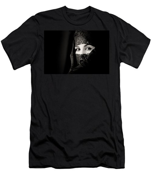 Mystery That Is Woman Men's T-Shirt (Athletic Fit)