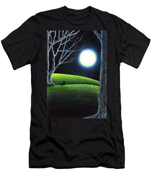 Mystery's Silence And Wonder's Patience Men's T-Shirt (Athletic Fit)