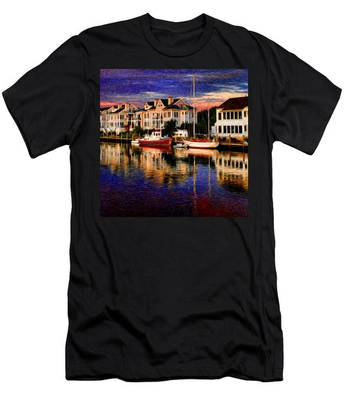 Mystic Ct Men's T-Shirt (Athletic Fit)