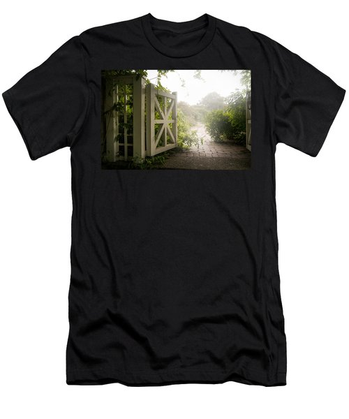 Mystic Garden - A Wonderful And Magical Place Men's T-Shirt (Athletic Fit)