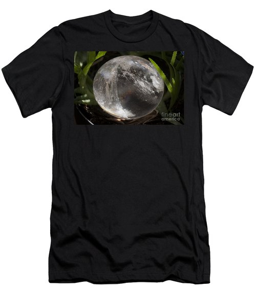 Mystical Crystal Sphere Men's T-Shirt (Athletic Fit)