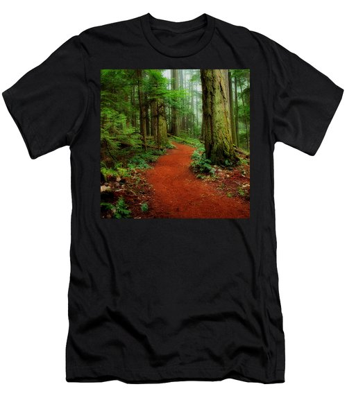 Mystical Trail Men's T-Shirt (Athletic Fit)