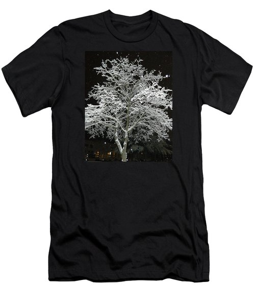 Mystical Winter Beauty Men's T-Shirt (Slim Fit) by Emmy Marie Vickers