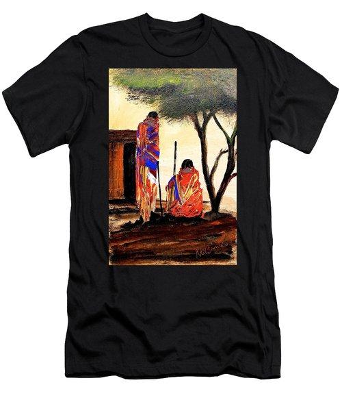 N 87 Men's T-Shirt (Athletic Fit)