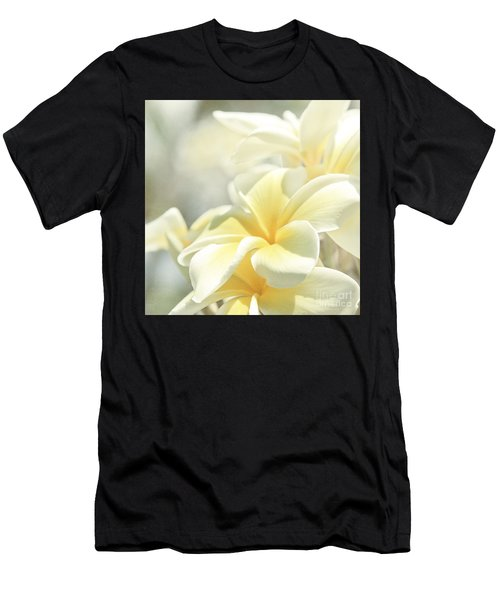 Na Lei Pua Melia Aloha E Ko Lele Men's T-Shirt (Athletic Fit)