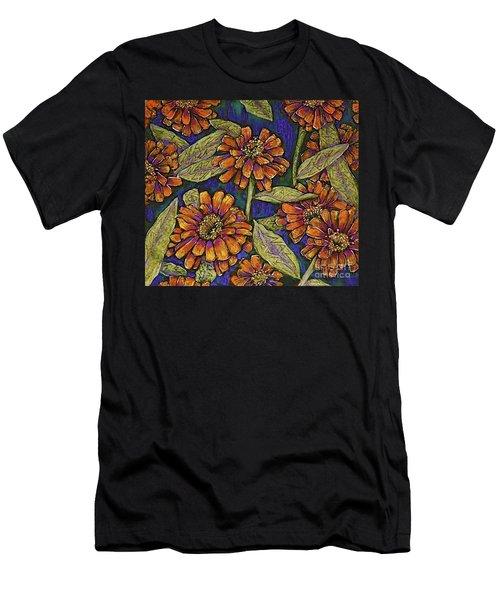 Nazinnias Men's T-Shirt (Slim Fit) by Linda Simon