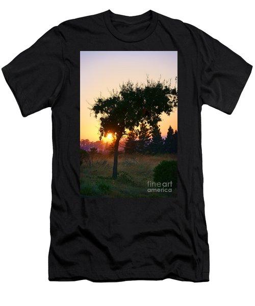 Men's T-Shirt (Slim Fit) featuring the photograph Napa Moment by Ellen Cotton
