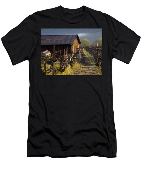 Napa Morning Men's T-Shirt (Slim Fit) by Bill Gallagher