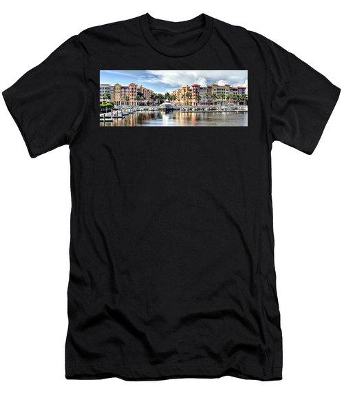 Naples Bayfront Men's T-Shirt (Athletic Fit)