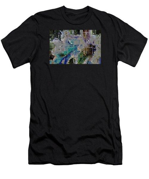 Narrative Splash Men's T-Shirt (Athletic Fit)