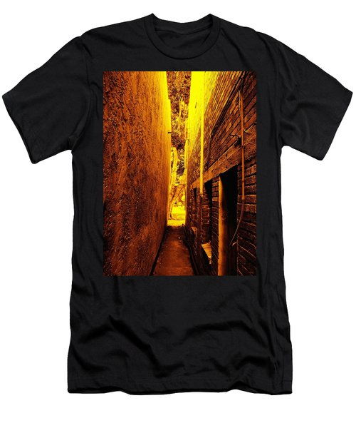 Narrow Way To The Light Men's T-Shirt (Athletic Fit)