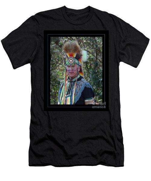Native American Portrait Men's T-Shirt (Athletic Fit)