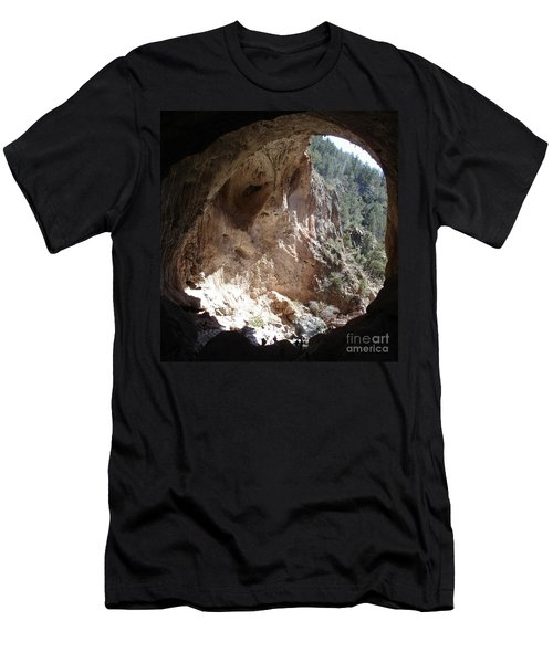 Natural Bridge View Men's T-Shirt (Athletic Fit)