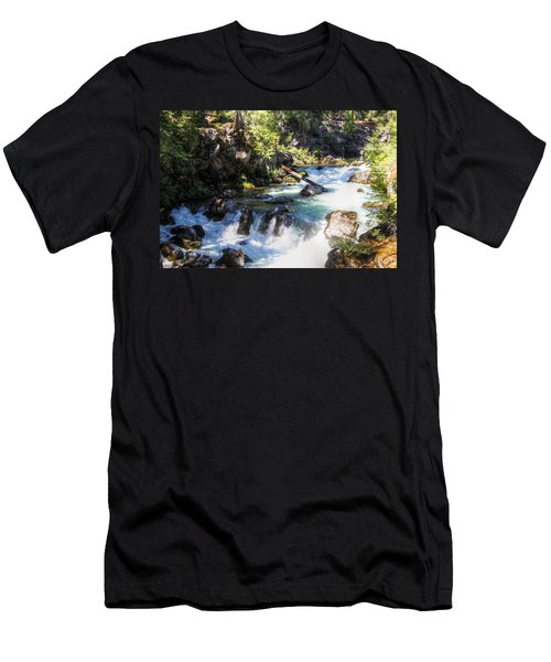 Men's T-Shirt (Slim Fit) featuring the photograph Natural Bridges by Melanie Lankford Photography