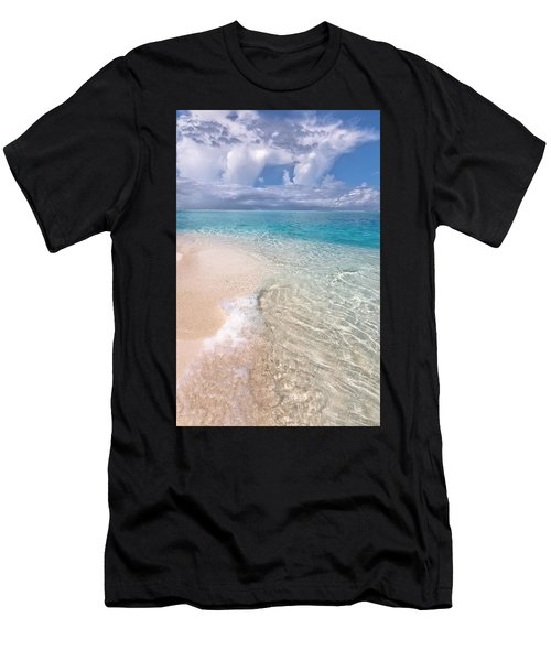 Natural Wonder. Maldives Men's T-Shirt (Athletic Fit)
