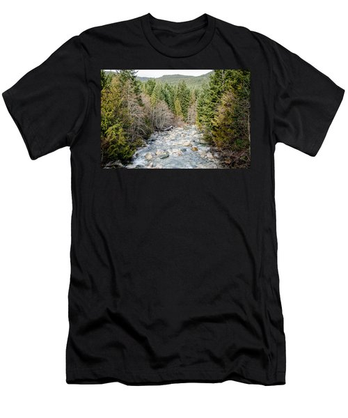 Island Stream Men's T-Shirt (Athletic Fit)
