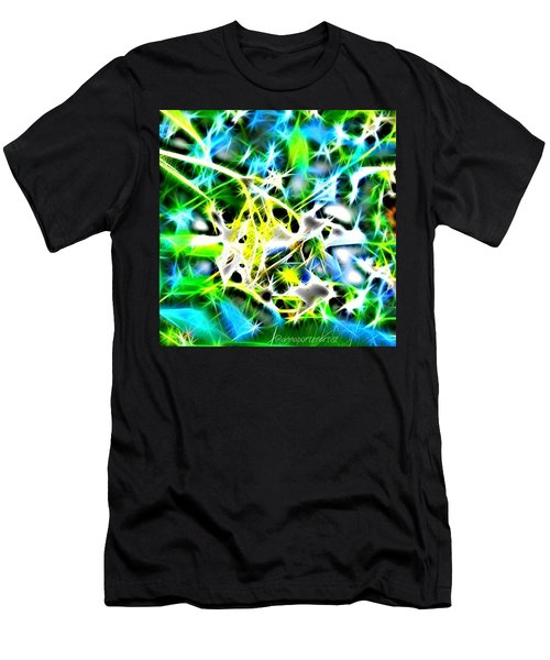 Nature Abstracted Men's T-Shirt (Slim Fit) by Anna Porter