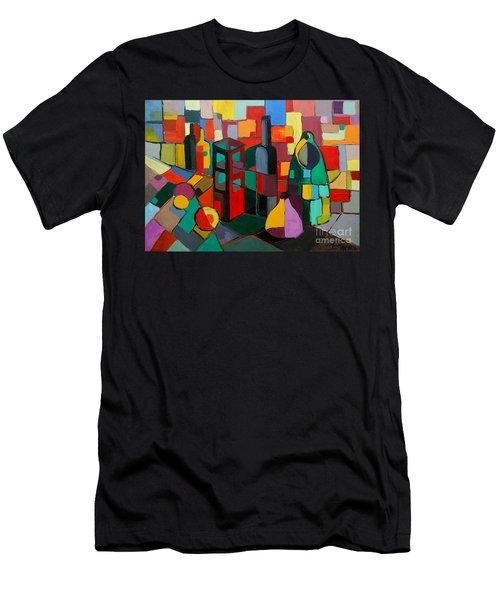 Nature Morte Cubiste Men's T-Shirt (Athletic Fit)