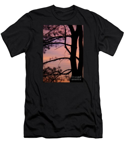 Nature Sunrise Men's T-Shirt (Athletic Fit)