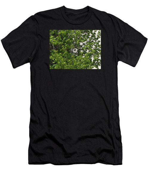 Nature's Art - Wellness Works Glendale - Face In The Tree  Men's T-Shirt (Athletic Fit)