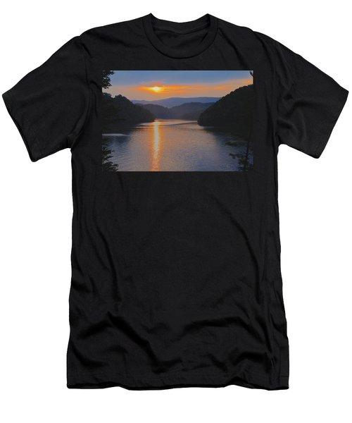 Natures Eyes Men's T-Shirt (Slim Fit) by Tom Culver