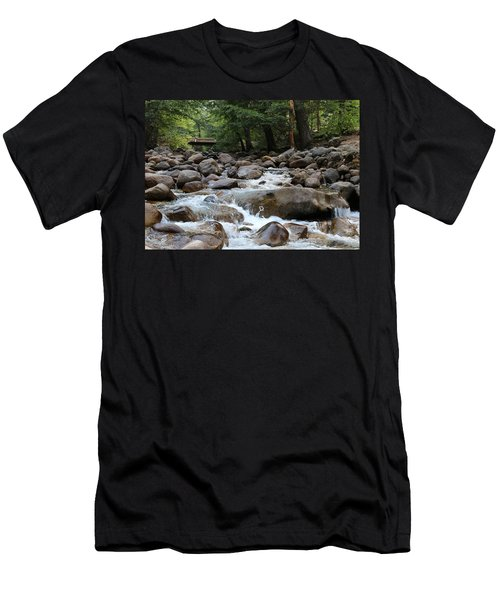 Nature's Flow  Men's T-Shirt (Athletic Fit)
