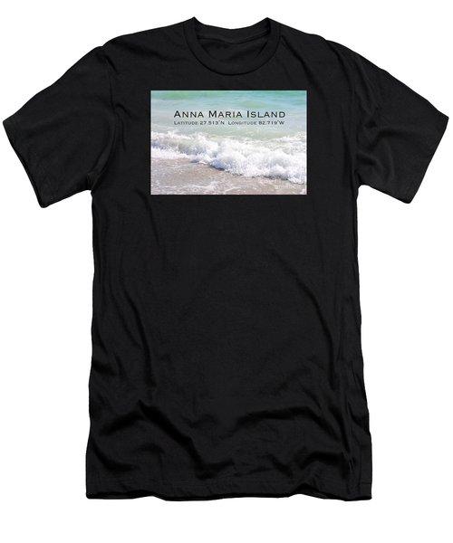 Nautical Escape To Anna Maria Island Men's T-Shirt (Athletic Fit)