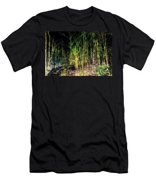 Negative Forest Men's T-Shirt (Athletic Fit)