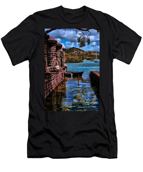 Nelson's Dockyard Antigua Men's T-Shirt (Athletic Fit)