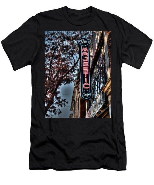 Neon At Dusk Men's T-Shirt (Athletic Fit)