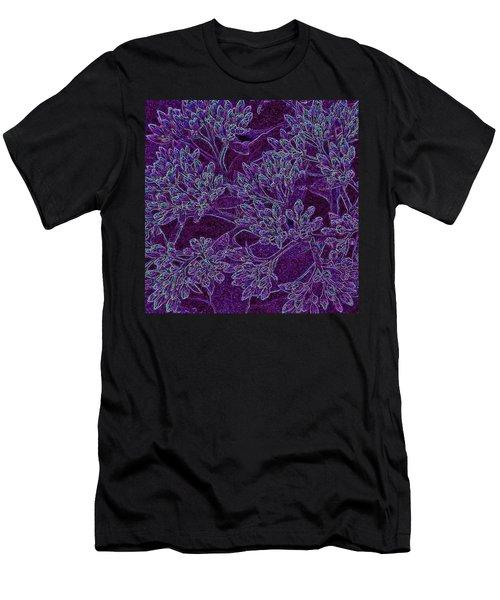 Neon Blossoms Men's T-Shirt (Athletic Fit)