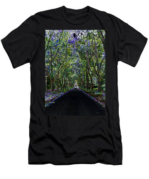Neon Forest Men's T-Shirt (Athletic Fit)