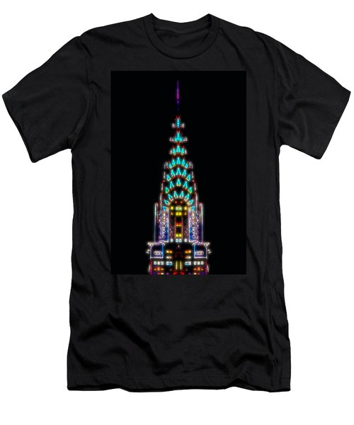 Neon Spires Men's T-Shirt (Athletic Fit)