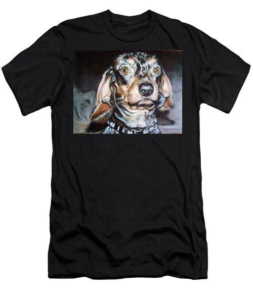 Nervous Man Men's T-Shirt (Slim Fit) by Martha Suhocke