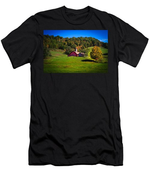 nestled in the hills of West Virginia Men's T-Shirt (Athletic Fit)
